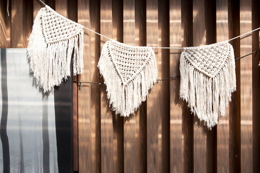 Macrame Buntings Large - Macrame Macrame - Homeware Lekker Project - Sustainable LekkerProject - Lekker Project