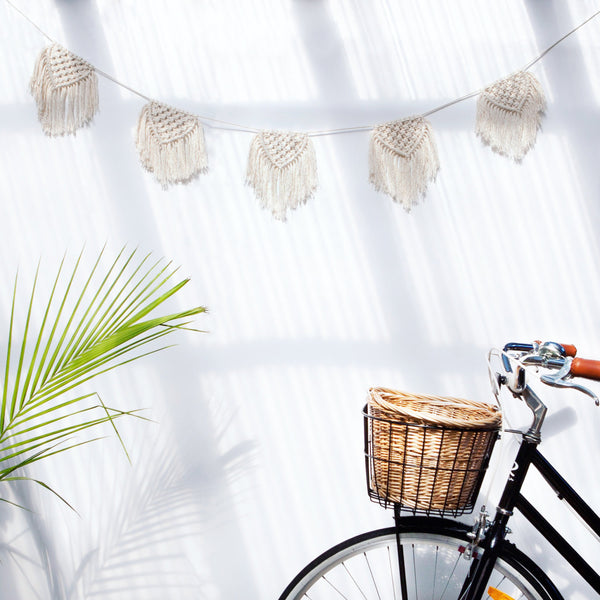 Macrame Buntings Small - Macrame Macrame - Homeware Lekker Project - Sustainable LekkerProject - Lekker Project