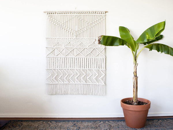 XL Macrame Wall Hanging - Macrame Macrame - Homeware Lekker Project - Sustainable LekkerProject - Lekker Project