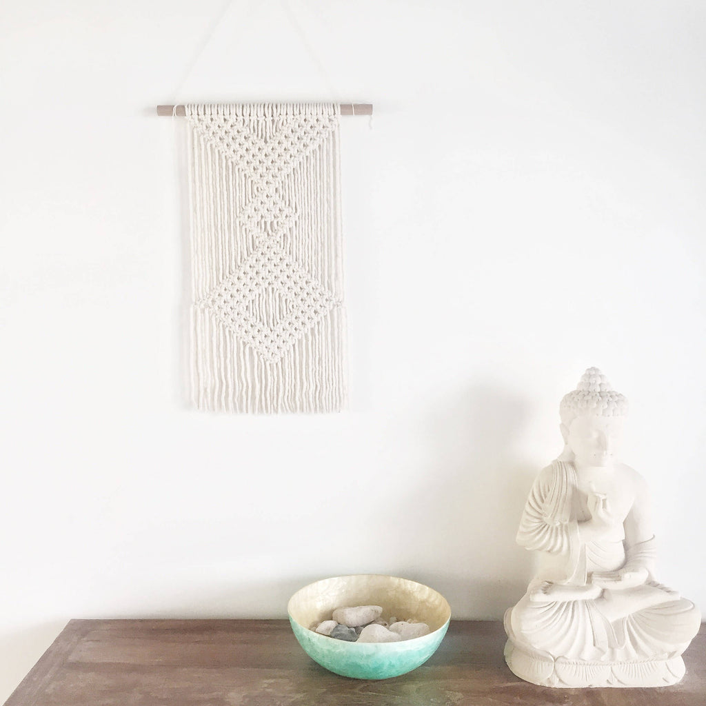 Macrame Wall Hanging - Macrame Macrame - Homeware Lekker Project - Sustainable LekkerProject - Lekker Project