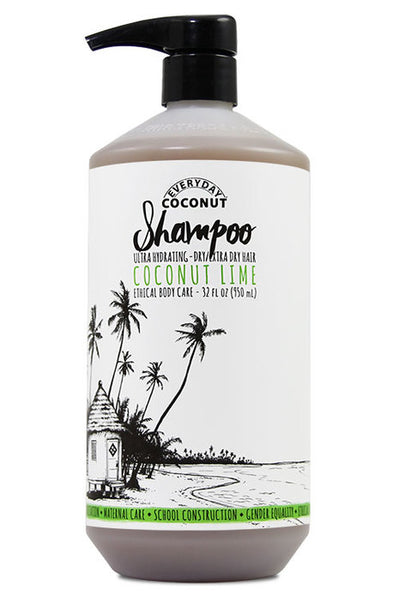 Hydrating Shampoo - Coconut Lime - Macrame  - Homeware Everyday Coconut - Sustainable LekkerProject - Lekker Project
