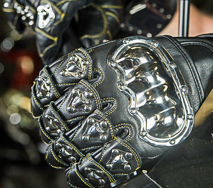 HIGHWAY LEATHER Hip Hugger Leather Chaps Bling Detailing Women Style