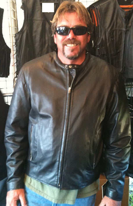 Light Weight Leather Jacket - HighwayLeather
