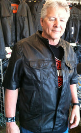 SPORTY SHIRT HALF SLEEVE - One Thousand Shorty Jacket - highwayleather