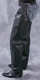Single leg motorcycle leather CHAP - HighwayLeather