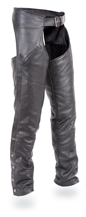 Renegade thermal lining motorcycle leather chap - HighwayLeather