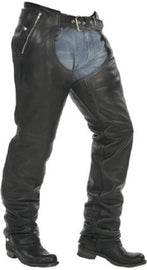 Take out thermal lining motorcycle leather chap - HighwayLeather