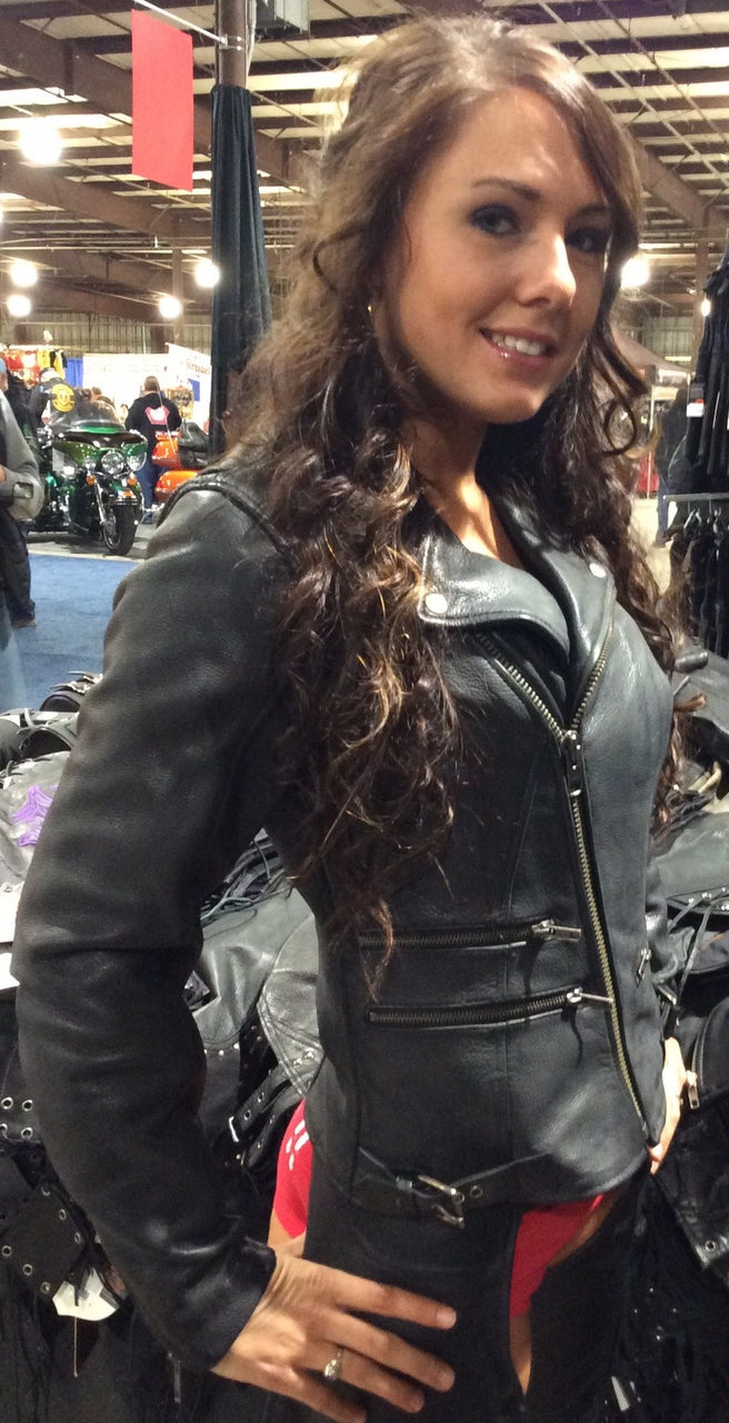 LADIES MONTE CARLO JACKET - HighwayLeather