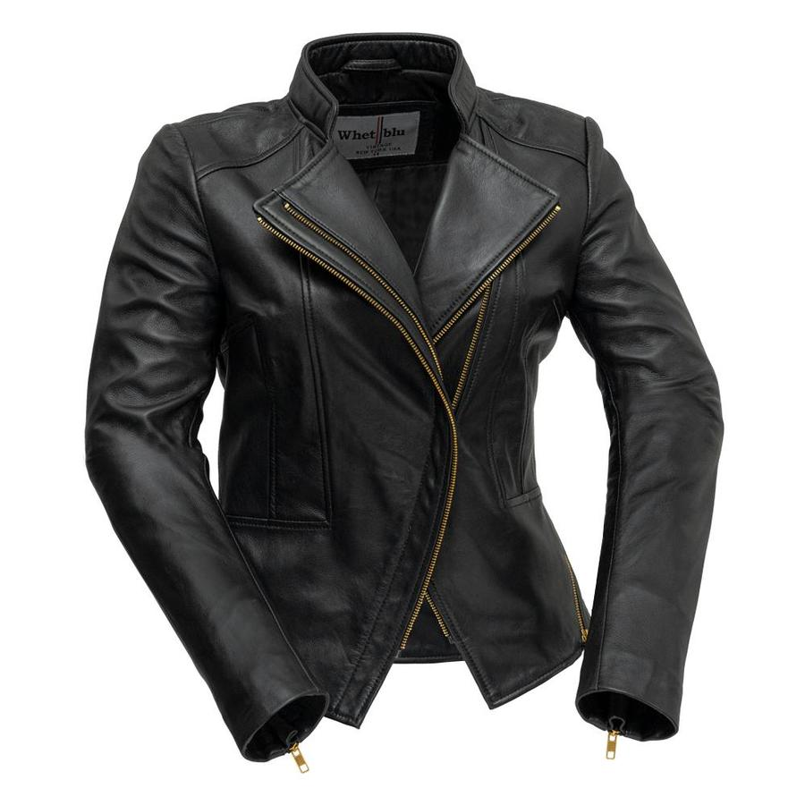 ZOEY - LADIES LEATHER BLAZER - HighwayLeather