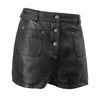MALENI - WOMEN'S LEATHER SHORTS - HighwayLeather