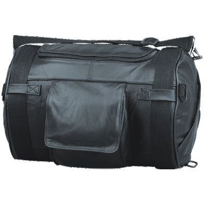 PU Drum Duffle Roll bag - HighwayLeather