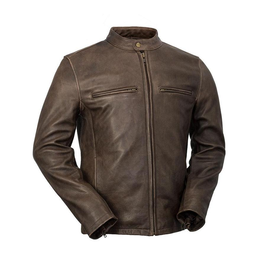 MAINE - MEN'S LEATHER JACKET - HighwayLeather