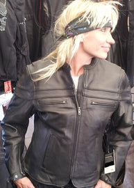 Tuscany sporty scooter women jacket - highwayleather