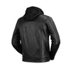 AXEL - MENS'S HOODED LEATHER JACKET - HighwayLeather