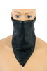 HIGHWAY LEATHER Facemask Motorcycle Leather Half Face Mask 100% Natural Buffalo Leather Bandana Face Mask - Protection from UV, Cold, Dust, Wind - HighwayLeather