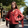 DAISY - WOMEN'S LEATHER JACKET - HighwayLeather