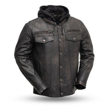 Vendetta - Men's Leather Motorcycle Jacket - HighwayLeather