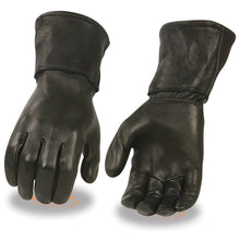 Men's Deerskin Leather Thermal Lined Gauntlet Glove - HighwayLeather
