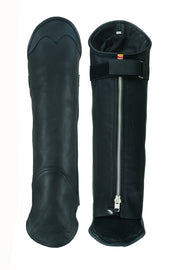 Gaiter chap - Short legging Premium Leather chap - HighwayLeather
