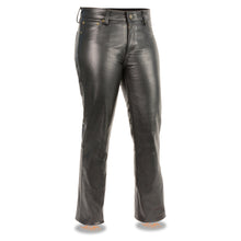 Women's Classic 5 Pocket Leather Pants - HighwayLeather