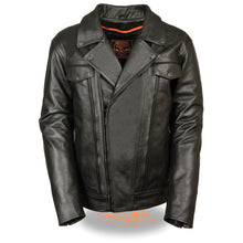 Men's Utility Pocket Vented Cruiser Jacket - HighwayLeather
