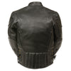 Kids Side Lace Vented Scooter Jacket - highwayleather