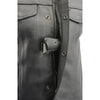 Men's Open Neck Snap/Zip Front Club Style Vest w/ External Gun Pocket - HighwayLeather