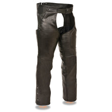 Men's 3 Pocket Chap w/ Thigh Patch Pocket - highwayleather