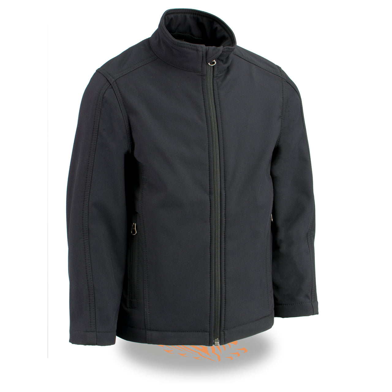 Youth Sized Waterproof Lightweight Zipper Front Soft Shell Jacket - HighwayLeather