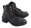 Kid's Lace to Toe Biker Style Boot - HighwayLeather
