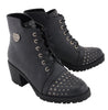 Ladies Rocker Boot w/ Studded Instep - HighwayLeather
