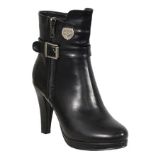Ladies Side Zipper Entry High Heel Boot - HighwayLeather