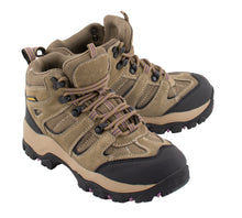 Women Waterproof Brown Hiking Boot - HighwayLeather