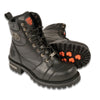 "Men's 7"" Waterproof Leather Boot w/ Lace to Toe Design - HighwayLeather"