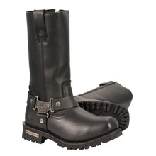 Men's 11 Inch Waterproof Harness Square Toe Boot - HighwayLeather