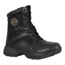 Men's Leather Lace to Toe Tactical Boot - highwayleather