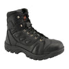 "Men's 6"" All Leather Tactical Boot w/ Side Zipper - HighwayLeather"