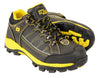 MBM9121ST-Men's Black & Yellow Water & Frost Proof Leather Shoe w/ Composite Toe - HighwayLeather