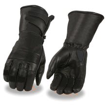 Men's Thermal Lined Gauntlet Gloves w/ Extra Long Cuff - HighwayLeather