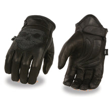 Men's Premium Leather Short Wrist Gel Palm Driving Glove - HighwayLeather