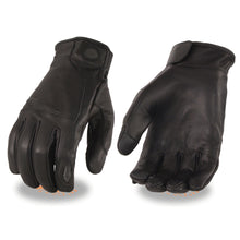 Men's Premium Leather Gloves w/ Led Finger Lights – I-Touch - HighwayLeather