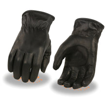 Ladies Thermal Lined Leather Gloves w/ Cinch Wrist - HighwayLeather