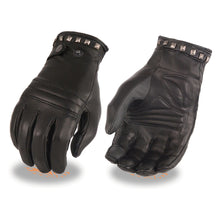Ladies Leather Thermal Lined Glove w/ Studding Detail – Touch Screen Fingers - HighwayLeather