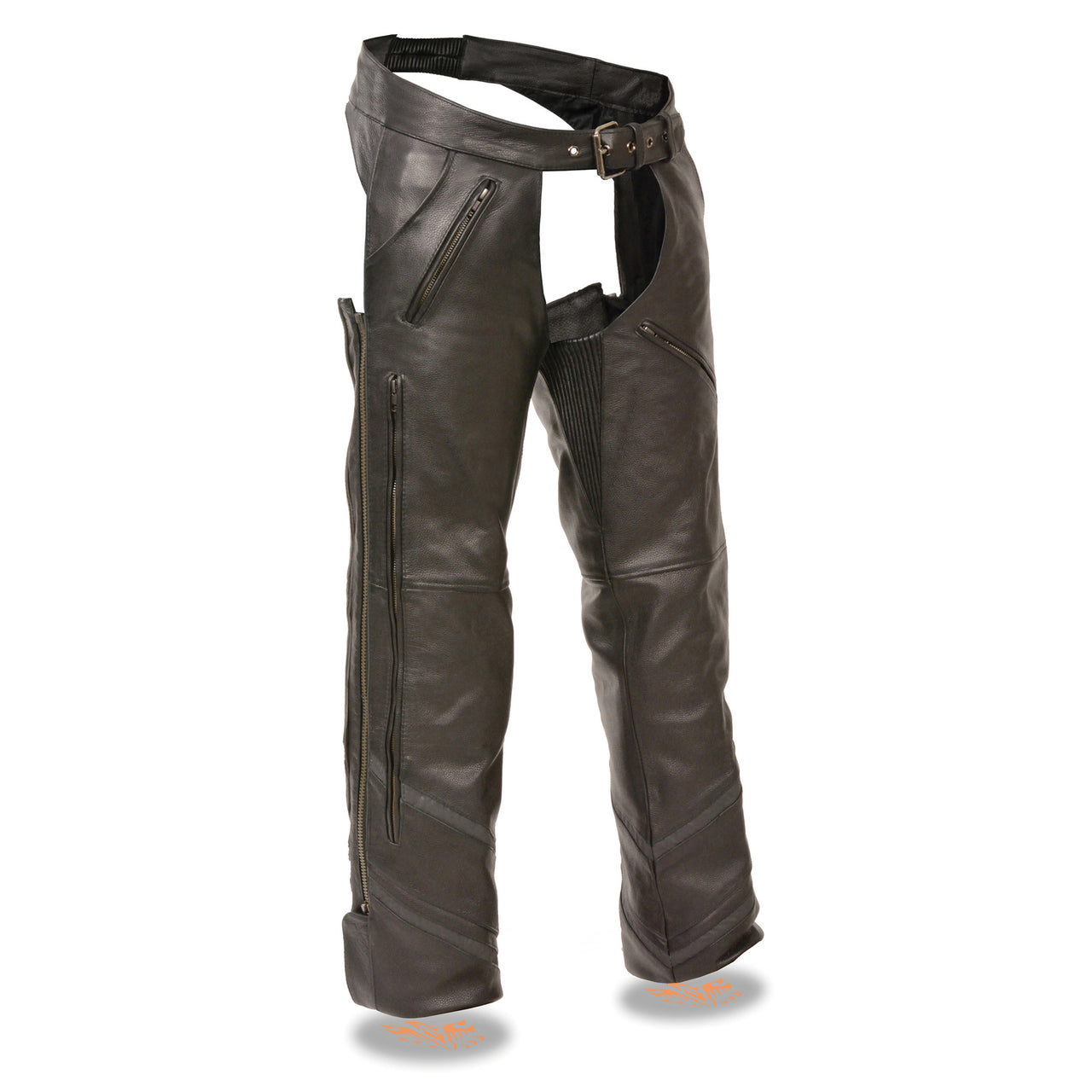 Men's Vented Chap w/ Reflective Piping - HighwayLeather