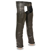 Men's Classic Chap w/ Zipper Thigh Pocket - highwayleather