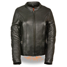 Women's Vented Jacket w/ Back Stretch - HighwayLeather