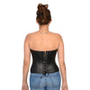 Ladies Lambskin Fitted Corset - HighwayLeather