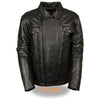 Men's High End Utility Pocket Vented Cruiser Jacket - HighwayLeather