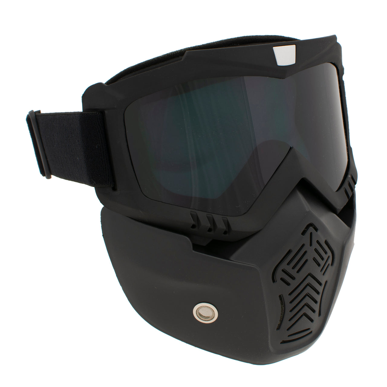 Motorcycle Googles w/ Detachable Mask and Dust Muffle - HighwayLeather