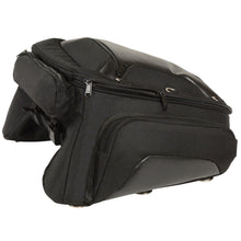 Long Textile Trunk Rack Travel Bag (21x12x8.5) - highwayleather